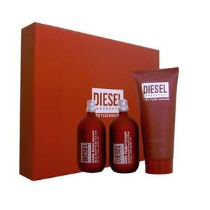 Diesel Zero Plus Masculine 75ml EDT Gift Set - clickfragrance.co.uk £13.95