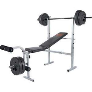Pro Power Bench with 30kg Weights Set. - £49.99 Reserve + Collect @ Argos