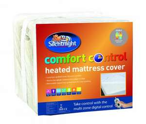 Silentnight Comfort Control Electric Blanket Heated Mattress Cover - Double FREE DELIVERY £14.99 @ EBAY  uk-bedding