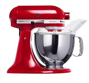 KItchenaid Artisan food mixer, £341.10 at Debenhams (plus 5% quidco possible)