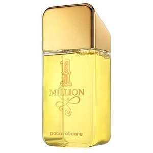 Paco Rabanne One Million Shower Gel  HUGE 600ml for £18.75 plus FREE delivery also 5% Quidco cashback at Debenhams