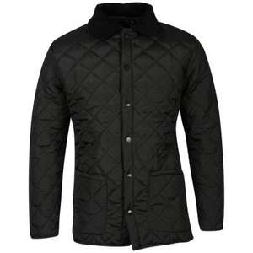Soul Star Men's Quilt Jacket - Black/Navy/Burgundy/Khaki - £11.99 delivered @ Zavvi