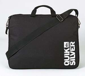 Quiksilver Laptop Sleeve Messenger Bag Black £5.98 Delivered @ Argos Ebay Outlet