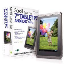 Scroll basic plus 7 inch tablet @ apollo 2000