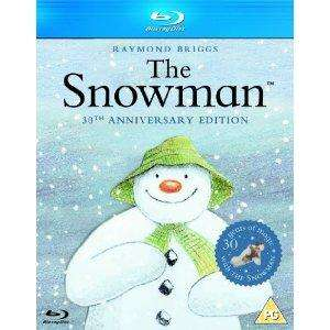 The Snowman 30th Anniversary Edition Blu-Ray £7.00 delivered from Asda
