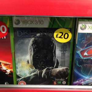 Dishonored £20 instore Morrisons Xbox 360 and PS3