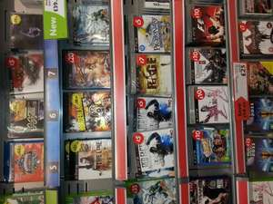 Reduced Xbox and ps3 games in morrisons at Morrisons