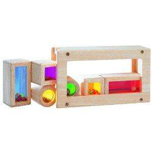 Wonderworld Wooden Rainbow Sound Blocks now £13.59 del @ Amazon
