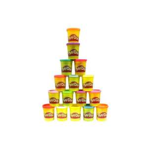 Pack of 16 Full Size Play Doh Tubs (16 different colours) £10.93 del @ Amazon (sold by Bargain Base)