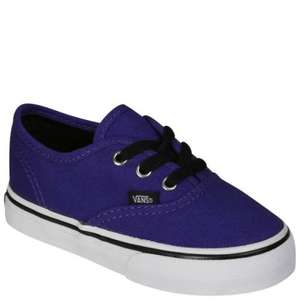 Vans trainers - Toddlers/kids in sizes 4, 5 & 6 from Allsole £12.75 (Delivered) with code VAN15