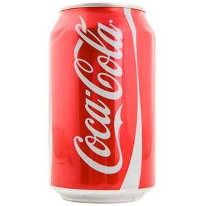 Cola-cola can 39p @ tesco instore