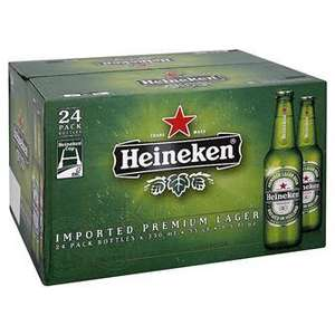 24 x 330ml Heineken £11.99 Plastic Bottles @ Bargain Booze