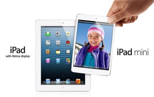 iPad 4th Generation 16GB £378 & iPad mini 16GB £259 @ Dixons Travel