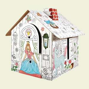 colour-In Playhouse Lidl £7.99