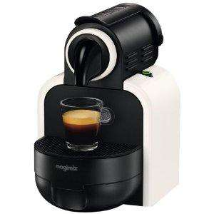 Magimix M100 Nespresso in white with Aeroccino milk heater/frother and £40 credit - Amazon £99