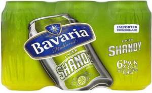 Bavaria Lager Shandy (6 x 330ml) NOW ONLY £1.00 @ Asda