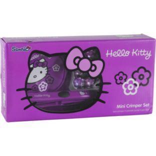 Hello Kitty Mini Crimper Set - Limited Edition - Argos - £16.99 was £29.99