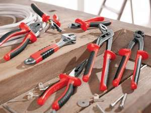 Back again - Pliers (Long Nose/Water Pump/Combination), Mechanic's Nippers, Adjustable Spanner, Wire Strippers or Side Cutters - choose any 3 for £5 or £1.99 each @ LIDL from 18th April