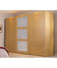 IT'S BACK!!! Schreiber Sliding Wardrobe Package - Shaker Ivory - 3 Door. WAS £1420 NOW £520 @ ARGOS