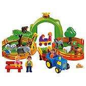Playmobil 123 Large Zoo NOW £20.00 @ Tesco. Possible £10.00 with voucher exchange & Free Click & Collect.
