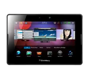 Blackberry Playbook 64GB delivered for £122.55 from pcworld with code PCW2 (possible £10 cashback when buying any case at time of ordering)