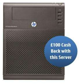 HP Microserver N40L £209 @ serversdirect (£109 with cb) + 3% Quidco