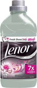 Lenor Infusions Fabric Conditioner Concentrate Pearl & Moonflower - 34 Washes (1.16L) was £3.37 now £1.68 @ Sainsbury's