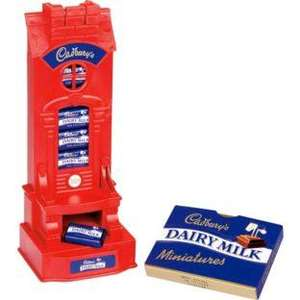Cadbury Refill Chocolate Machine Money Box with 20 x 100g Dairy Milk miniatures @ ARGOS £6.97