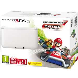 Pre-order 3DS XL with Mariokart 7 ice white £152.99 del @ iwoot (use code PAYIWOOT15) possibly £143.99 if you have a personal code in your inbox!