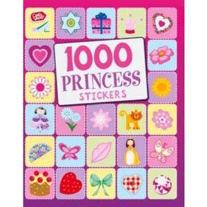 Chad Valley 1000 Princess or Dinosaurs Stickers Book - Just £1.99 @ Argos with FREE delivery or Click & Collect - In Stock Too!! Dinosaurs link in 1st post (Thanks to ripoffh8er) CONFIRMED @ 1000 stickers