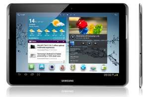"Samsung Galaxy Tab - 16GB Storage 10.1"" Android 3.1 Honeycomb WHITE GT-P7510 £232 delivered @ microdirect"