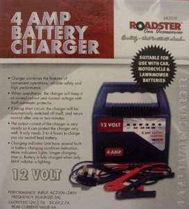 4amp Car Battery Charger £11.05 delivered Tooltime at Amazon