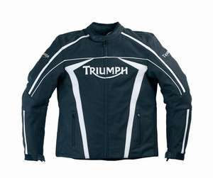 Triumph Motorcycle Leather Jacket (RRP £260)