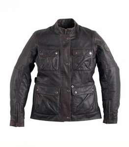Ladies leather bike jacket £80 that's £155 off......made by TRIUMPH ........