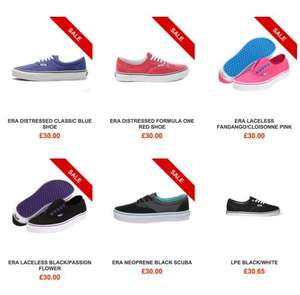 Weekend deal Vans Era  £30 MAM store plus postage