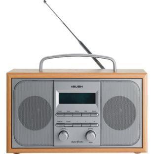 Bush Arden Wooden Dab Radio Silver Was £79.99 Now £29.99 @ Argos
