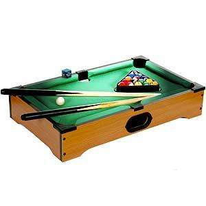 Cool Gifts for Men, Tabletop Pool Table £8.99 @ Home Bargains