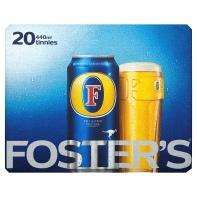 Foster's Lager 20 cans for £11 @ ASDA instore and online