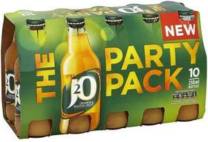 Britvic J20 Party Packs (10 x 250ml) was £6.00 now £3.00 @ Tesco