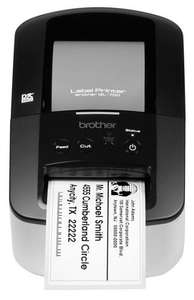 Brother QL-700 label printer + £30 cash back from brother = £22.99 @ Ebay / Labelzone