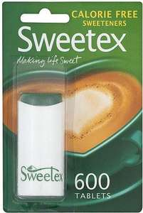 Sweetex (600) Calorie FREE sweetners was £1.49 now £1.00 @ Savers
