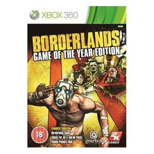 Borderlands Game of the Year Edition - XBox 360 & PS3 - Only £10.99 Delivered at Play.com