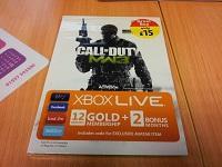 XBOX Live 12 + 2 ( MW3 Branded ) £15 @ Morrisons