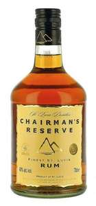 Chairman's Reserve Finest St. Lucia Rum 70cl for £10.25 @ Tesco *Instore*