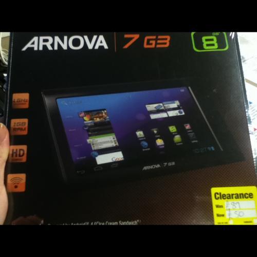 Arnova 7G3 8GB Tablet £50 @ Staples instore