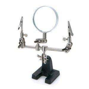 Rolson Tools 60335 Heavy Duty Helping Hand With 60mm Magnifying Glass. £2.65 delivered @ Amazon UK.