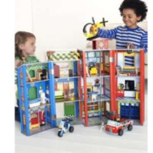Elc big city wooden rescue station £70 @ ELC