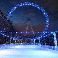 Ice Skate and ride on the London Eye - 33% off and Kids go free