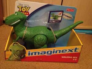 Imaginext toy story 3 walking rex rrp 30.00 now £9.99 instore @ Home Bargains