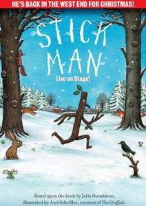 Stick Man Live On Stage Leicester Square London  21/21/23 Nov. 10:30am